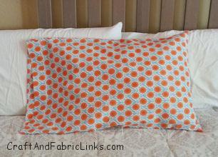 French Seam Pillowcase Home Decor Bedroom Decor Pillowcase King Size Pillowcase