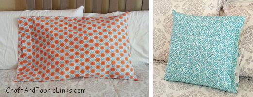Free Pillowcase Pattern And Pillow Patterns