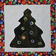 reverse applique Christmas tree