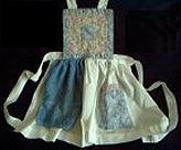 quilted apron
