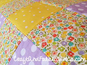 Baby Blocks Quilt Pattern.Baby Quilt Free Sewing Pattern