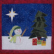 Christmas Star Wallhanging