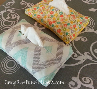 Pocket Tissue Cover Pattern