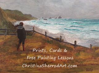 free painting lessons by Christina Sherrod Art