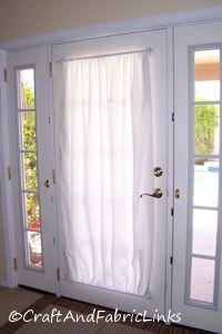 French Door Curtain