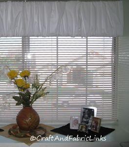Easy Curtain Pattern Window Topper