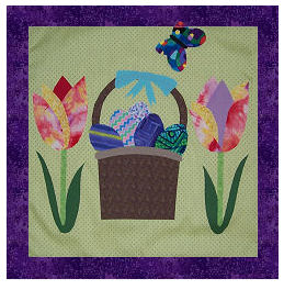 Free Applique Easter Pattern Lena Patterns