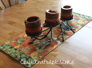 Free placemats Runner fall runners  Pattern Sewing table Table and