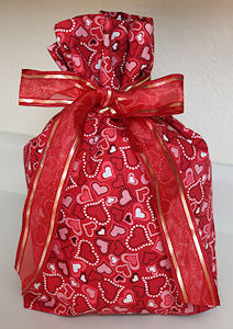 Free Fabric Gift Bag patterns and ideas - Quilting