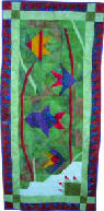 tropical fish wall hanging pattern