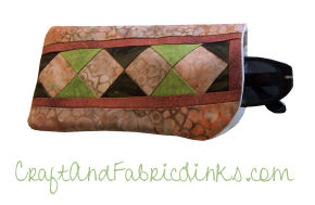Seminole Quilted Glasses Case Free Sewing Pattern : quilted eyeglass case pattern - Adamdwight.com