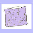 soothing lavender pillow