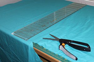 Cut Fabric For Futon Cover