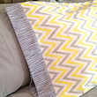 pillowcase pattern with contrast trim