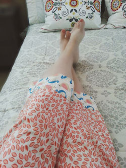 cuffed pajama pants pattern