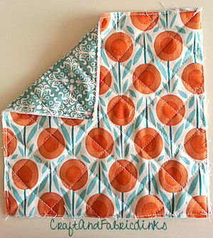 Double Faced Pre Quilted Cotton Fabric 42 Diamond Solids
