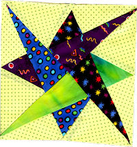 Nell's Star Quilt Block Pattern - Generations Quilt Patterns