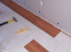 Wood Laminate Floor Instructions On How To Lay Floor