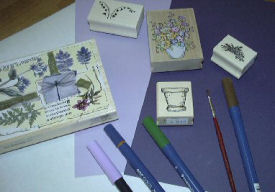 Watercolor stamping cards card making tools m4hsunfo