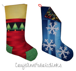 photo relating to Printable Stocking Patterns identified as Absolutely free Xmas Stocking Sewing Routine