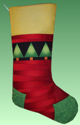 Christmas Stocking How To - Fleece Fun ♥ Free Sewing Patterns